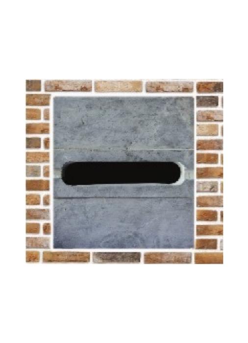 Blauwsteen Gleuf voor in muur – Model 21