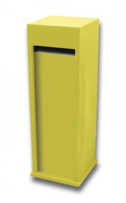 Gele brievenbus