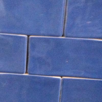 Keramische wandtegel Bronx azur 7,5 x 30 cm