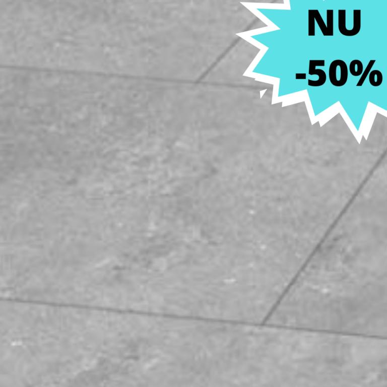 promo tegel Keramische terrastegels 60 x 60 x 2 cm Nice Cem Grey